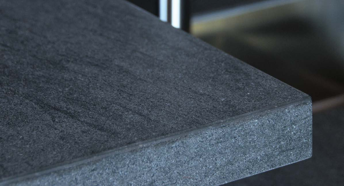 Stone Design Fusion Basalt Grey Slab And Tile
