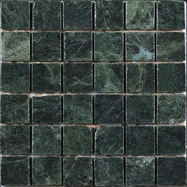 Stone Design Tumbled Marble Tile Clearance Dark Green