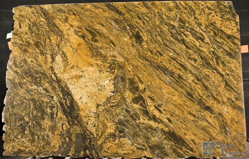Stone Design Granite Slab Clearance Golden Jaguar
