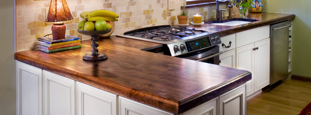 Stone Design J Aaron Wood Countertops Walnut