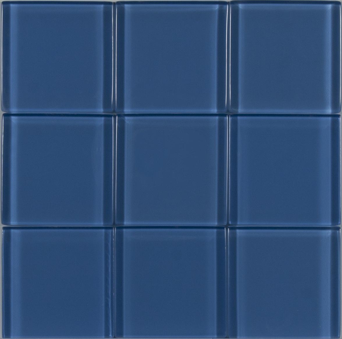 Stone Design - Glass Tile Clearance - Blue Zircon - CLEARANCE