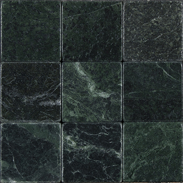Stone Design Tumbled Marble Tile Clearance Dark Green