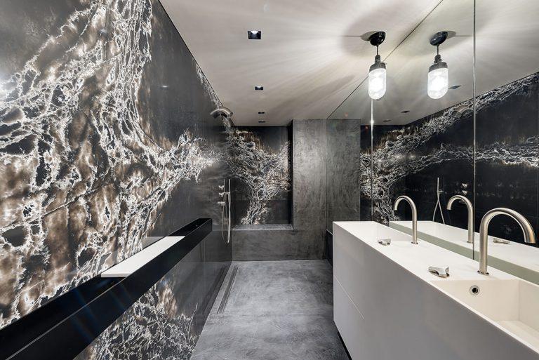 Stone Design Compac Surfaces Genesis Ice Black